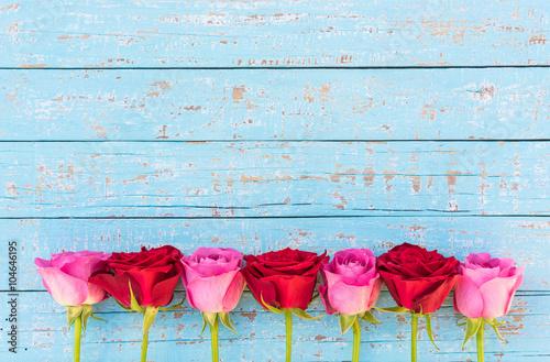Rosen Dekoration Blütenblätter