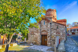 Old church in Nessebar, Bulgaria. UNESCO World Heritage Site. HDR photo