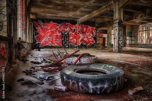 Fotobehang Graffiti Graffiti