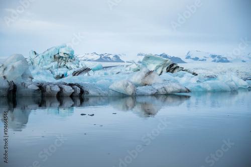 Foto op Plexiglas Antarctica 2 Jokulsarlon glacier lagoon in Iceland