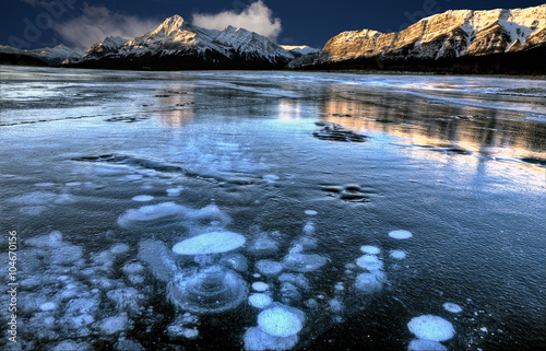 Plakat Abraham Lake Winter