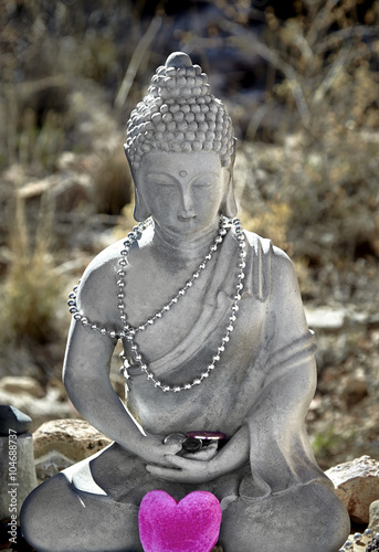 Juliste Meditating Buddha