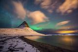Fototapety Nordlichter in Island