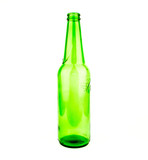 Beer bottles of green glass background, glass texture / green bottles / Bottle of beer with drops on white background. With clipping path / Texture water drops on the bottle of beer.