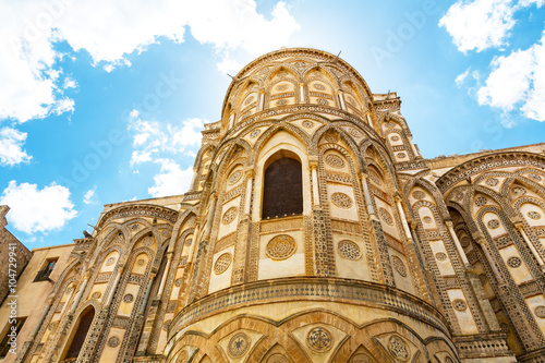 Foto op Aluminium Palermo Monreale Cathedral, nähe Palermo, Sicily, Italy