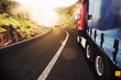 Detaily fotografie Transport truck