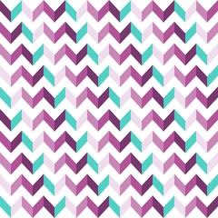 Pink Chevron Seamless Pattern