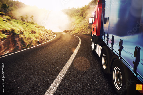 obraz PCV Transport truck