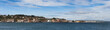 Port Townsend Panorama. The historic port city of Port Townsend, Washington, is littered with beautiful Victorian homes with widow walks and brightly colored paint jobs.