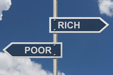 Being Rich Versus Poor