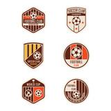 Fototapety Set of Soccer Football Badge Logo Design Templates. Sport Team I