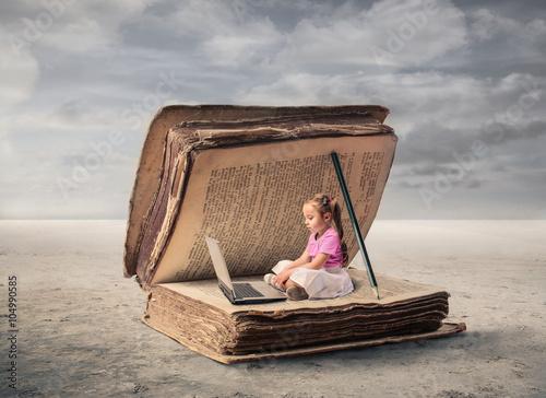 Zdjęcia na płótnie, fototapety, obrazy : Alternative educational ways