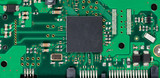 Electronic circuit board of computer hard drive