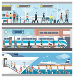 Fototapety Transportation and travel