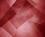 red triangle background. elegant layers of blocks and triangular shapes in random pattern. Burgundy red color.