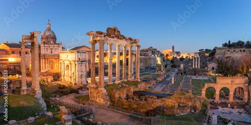Roman Forum in Rome Poster