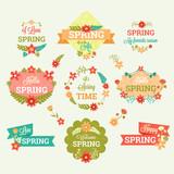 Etiquetas de primavera