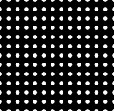 Polka dots pattern. Seamlessly repeatable dotted, circle backgro