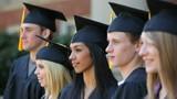 Graduates move tassels