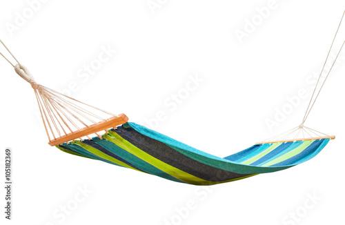 hammock isolated on white - 105182369