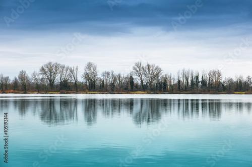 Fototapeta samoprzylepna panorama lacustre