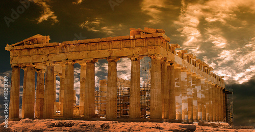 Parthenon in Athens,Greece