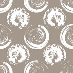 White blots on white coffee background