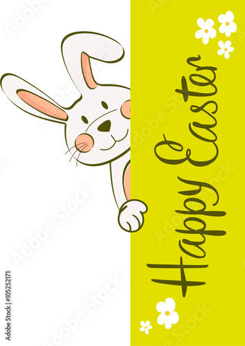 Naklejka Easter bunny
