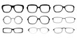 Set of spectacle frames