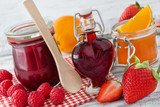 Fototapety Marmelade und Früchte