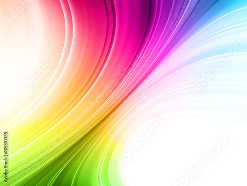 Fotobehang Abstractie 抽象的な線の背景