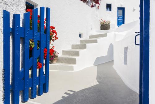 Door in Santorini, Greece