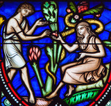 Adam and Eve and the Original Sin - 105387594