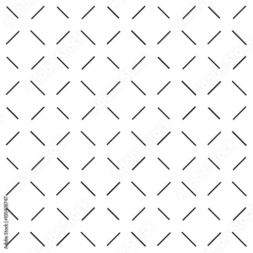 Black Dash White Background Vector Illustration - 105408747