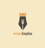 Creative symbol concept for cook book