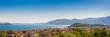 Verbania am Lago Maggiore in Oberitalien, Panorama