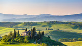 Fototapety Beautiful spring landscape in Tuscany, Italy