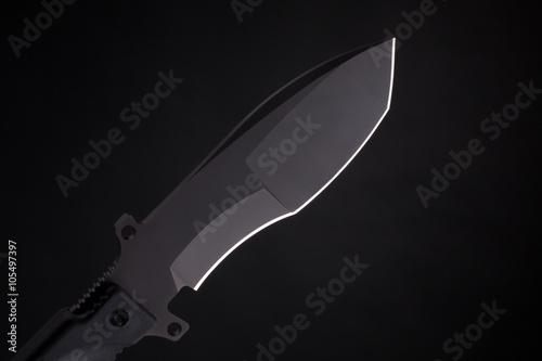 Poster Pocket knife on black