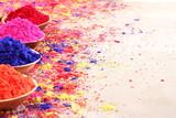 Holi, celebration of colors.An Indian festival