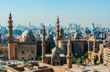 Fototapety Mosque Madrassa of Sultan Hassan photo, panoramic view from fortress