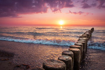 Sonnenuntergang am Strand © Daniel Dörfler
