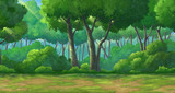 Fototapety Background forest daytime