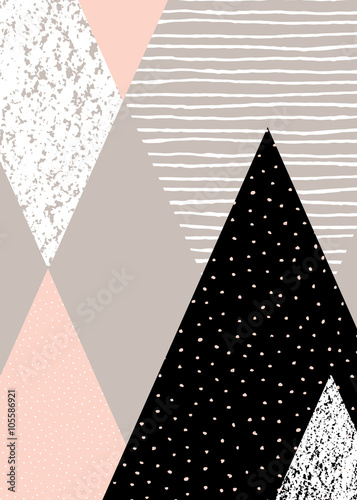 Abstract Geometric Landscape - 105586921