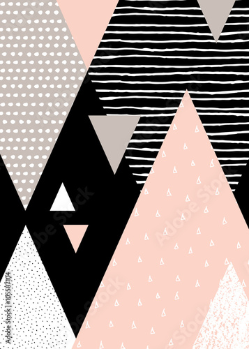 Abstract Geometric Landscape - 105587104