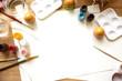 Obrazy na płótnie, fototapety, zdjęcia, fotoobrazy drukowane : Coloring Easter Eggs for easter day concept