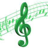 Violinschlüssel, Notenschlüssel, Musik
