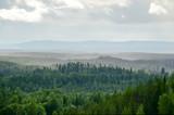 Fototapety Mountain landscape in Lapland Finland