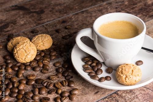 Poster espresso und Gebäck (gross)