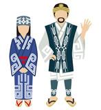アイヌ民族 カップル - Ainu Couple