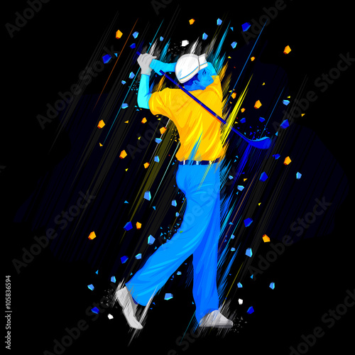 Fototapeta Golf Player player